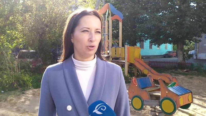Нина Аранович о благоустройстве двора