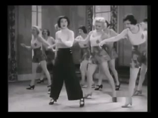 Dawn O'Day and her Tap Dance Students