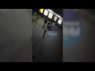 В Челнах у кинотеатра произошла массовая драка