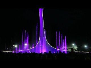 Фонтаны в Олимпийском