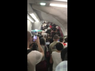 24 juillet à Paris - Sortie du métro Trocadéro
