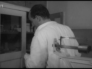 """Мирослав Махачек в фильме """"Обвиняемый"""". (Драма,Чехословакия,1963)"""