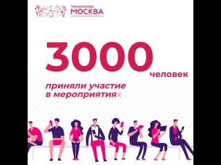 В ОЭЗ «Технополис Москва» на тематических мероприятиях присутствовало более 3000 человек