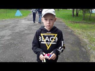 Экономический день. Ярослав из 5 отряда рассказывает о своих покупках.