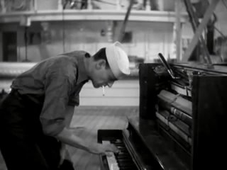 """Fred Astaire on Piano - """"I'm Putting All My Eggs in One Basket"""""""