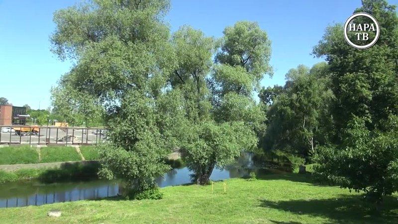 Полюбившаяся всем жителям Наро-Фоминска и гостям города набережная, протянувшаяся вдоль реки Нара за