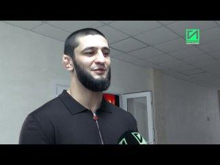 Чеченский боец UFC Хамзат Чимаев заявил, что будет драться со всеми топовыми бойцами организации