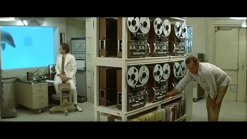 ДЕНЬ ДЕЛЬФИНА 1973 фантастика триллер драма Майк Николс