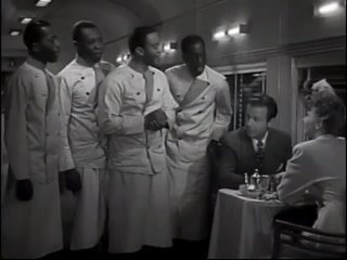 Dick Powell, Mary Martin and The Golden Gate Quartette (1942)