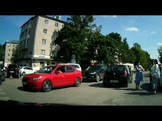ДТП на пересечении улиц 1 Мая и Ленина. Вязники