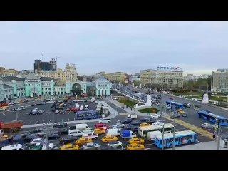 Белорусский вокзал. Москва .mp4