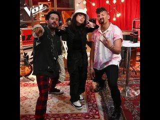 Никки и дуэт Mau y Ricky на аргентинском телешоу «Голос»