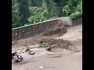 Дожди в Италии