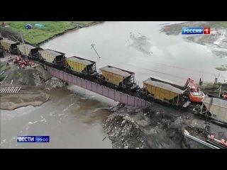 В Забайкалье разбираются с последствиями мощного паводка - Россия 24