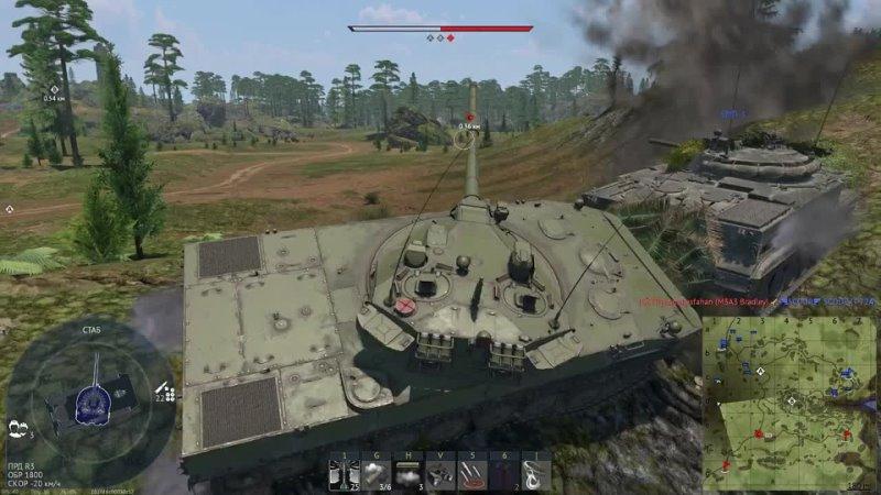 CrewGTW 2С25 Спрут СД ОБМАН СССР в War Thunder