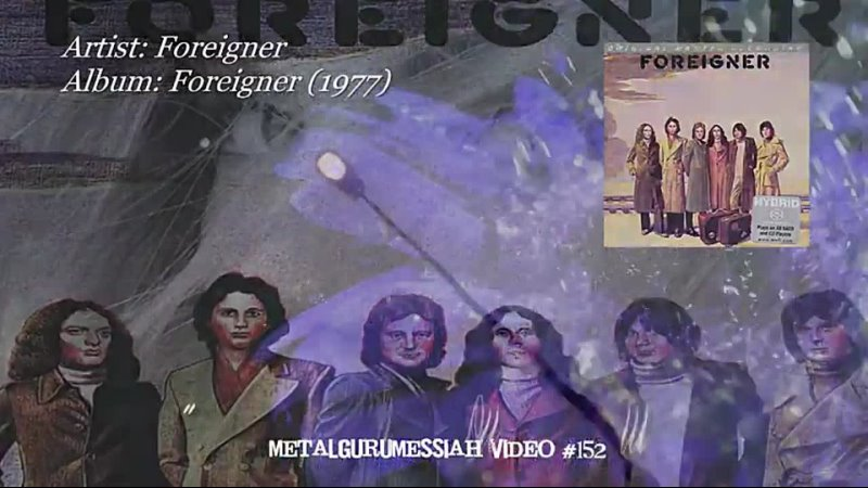 Fool For You Anyway Foreigner 1977
