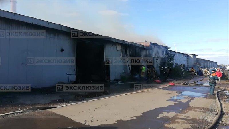 Пожар на Шафировском