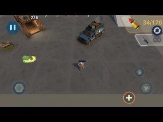 Превью альфа-версии зомбаков в мобильном зомби шутере