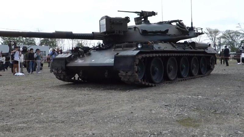 Самый СОВЕРШЕННЫЙ Танк в Мире Японский танк Тип 74 Основной боевой танк
