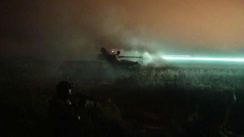 Батальонное тактическое учение ВДВ в Ивановской Костромской и Ярославской областях
