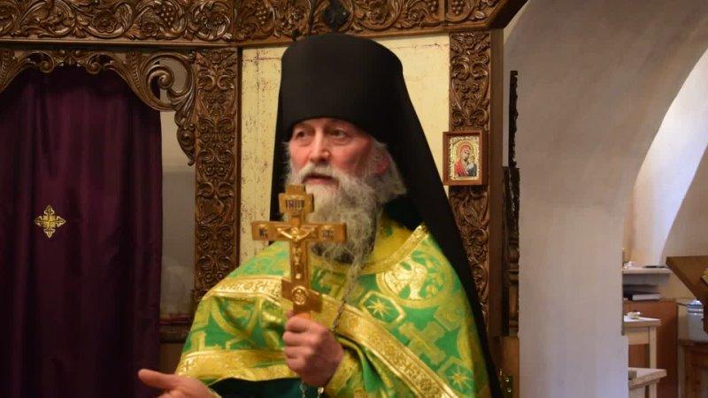 Проповедь в праздник обретения мощей преподобного Феодосия Тотемского 15 09 2021г