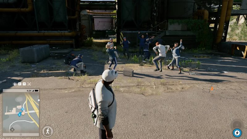 Хардбасс в Watch Dogs 2
