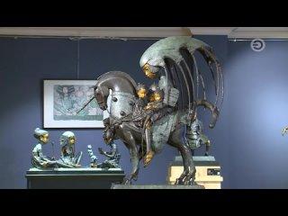 Сюжет о выставке Андрея Осташова «Ее маленький храм» в передаче Fam TV