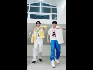 210729 NCT's Tiktok update with JOHNNY and MARK