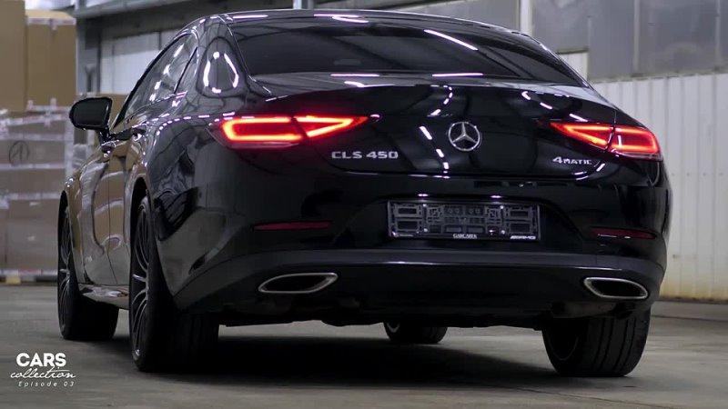 Mercedes Benz CLS 450 4matic Interior and exterior d