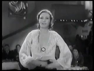 Binnie Barnes Sings And Dances In Her First Sound Film (1931)