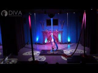 Танцы на полотнах (цирковые полотна), ученица студии Варя, хореограф Нина Зенкина