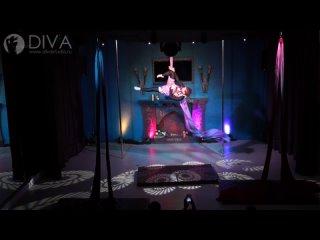Танцы на полотнах (цирковые полотна), ученица студии Шабунина Ксения, хореограф Дарья Евстафьева