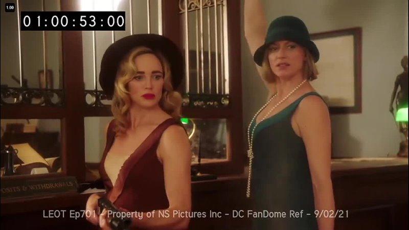 Легенды завтрашнего дня Отрывок из неудачных дублей седьмого сезона с мероприятия DC FanDome 2021
