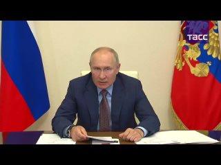 Путин участвует в церемонии запуска железнодорожного движения по второму Байкальскому тоннелю