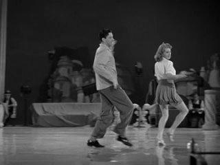 George Murphy Tap Dances With Lana Turner