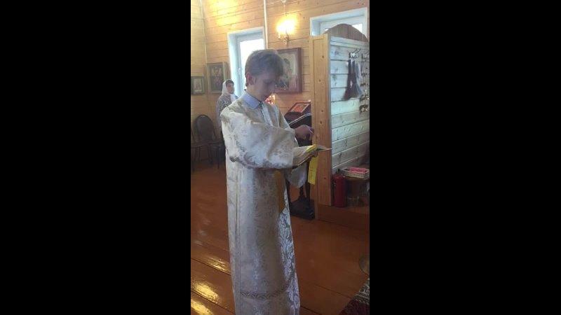 Видео от Храм Нечаянная Радость п Радовицкий