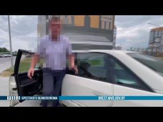 В Бресте задержали пьяного водителя