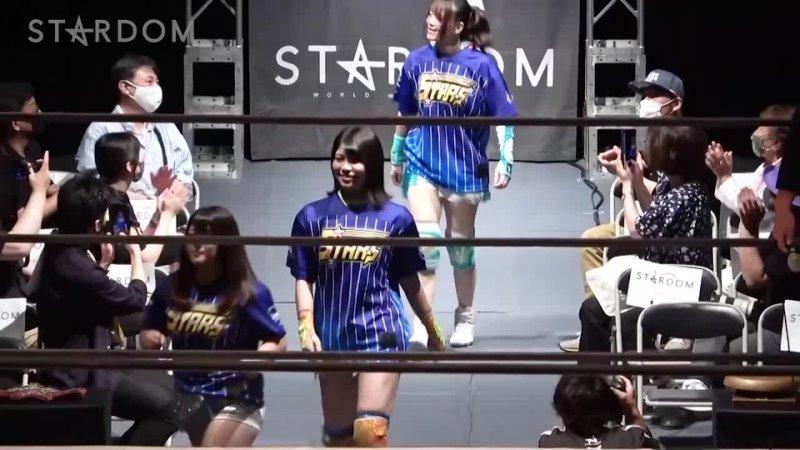 Stardom 07 24 2021 STARS Mayu Iwatani Koguma Hanan vs Oedo Tai Starlight Kid Ruaka Rina