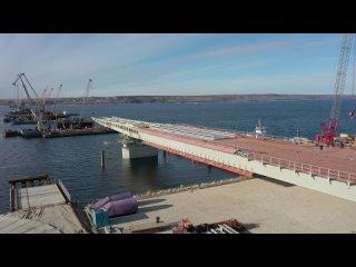 👍🏻Строительство Волжского моста идет с опережением...