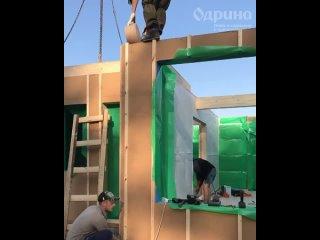 Видео от Одрина – строительство загородных домов
