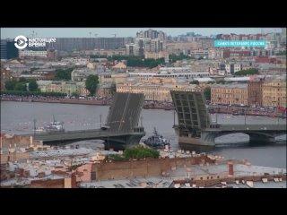 Военно-морской парад в Санкт-Петербурге во время роста смертности от COVID-19
