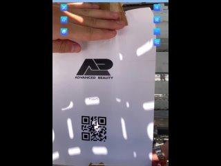 AR Mobile_QR-код и размещение модели