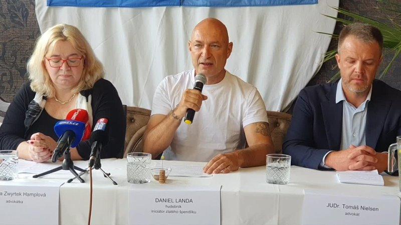 15 9 2021 Daniel Landa Tiskovka k akci Zlatý špendlík