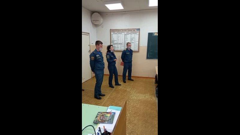 Видео от МОУ Средняя школа №2 Устюжна Школьный штаб РДШ