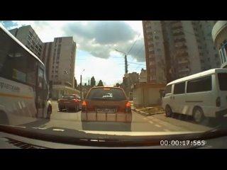 Нарушение ПДД в Воронеже