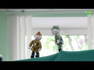 Кукольный спектакль для детей в совете ветеранов НВ АЭС