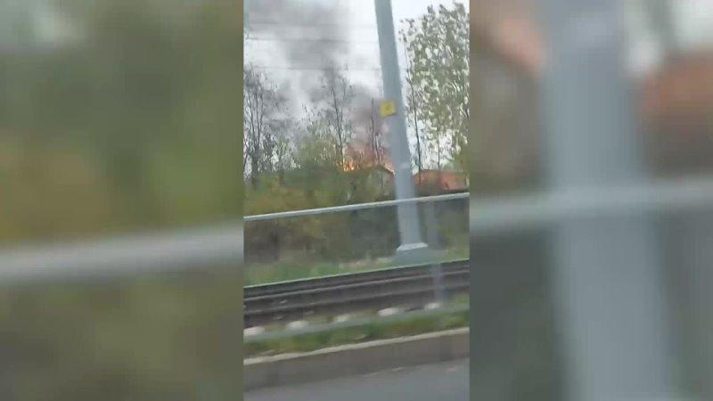 Сожжён и разобран в садоводстве на Ржевке произошёл пожар с пострадавшими
