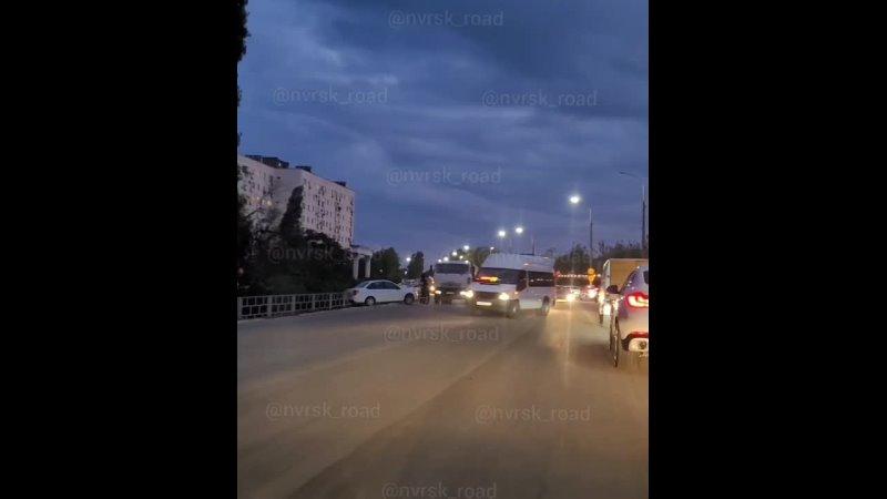 29 09 21 ДТП Мысхакское шоссе напротив Ментоны Направление в центр Обьезд по встречной