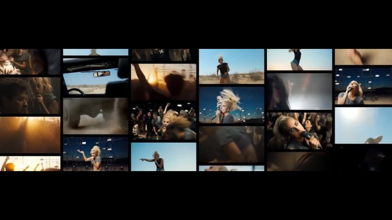 Lady Gaga Perfect Illusion Joanne World Tour Official Backdrop Loop