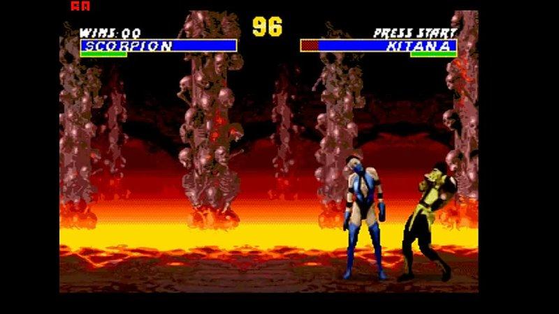 Быстрое прохождение Mortal Kombat 3 Ultimate Скорпион Режим HARD mp4